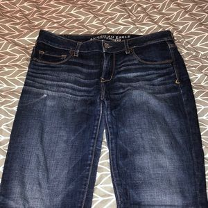 "American Eagle ""skinny kick"" jeans, size 8"